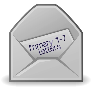 Primary 4-7 Letters Logo