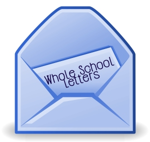Whole School Letters