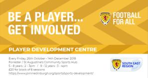 Player Development Centre Oct-Dec