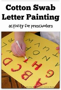 picture 7 letter painting